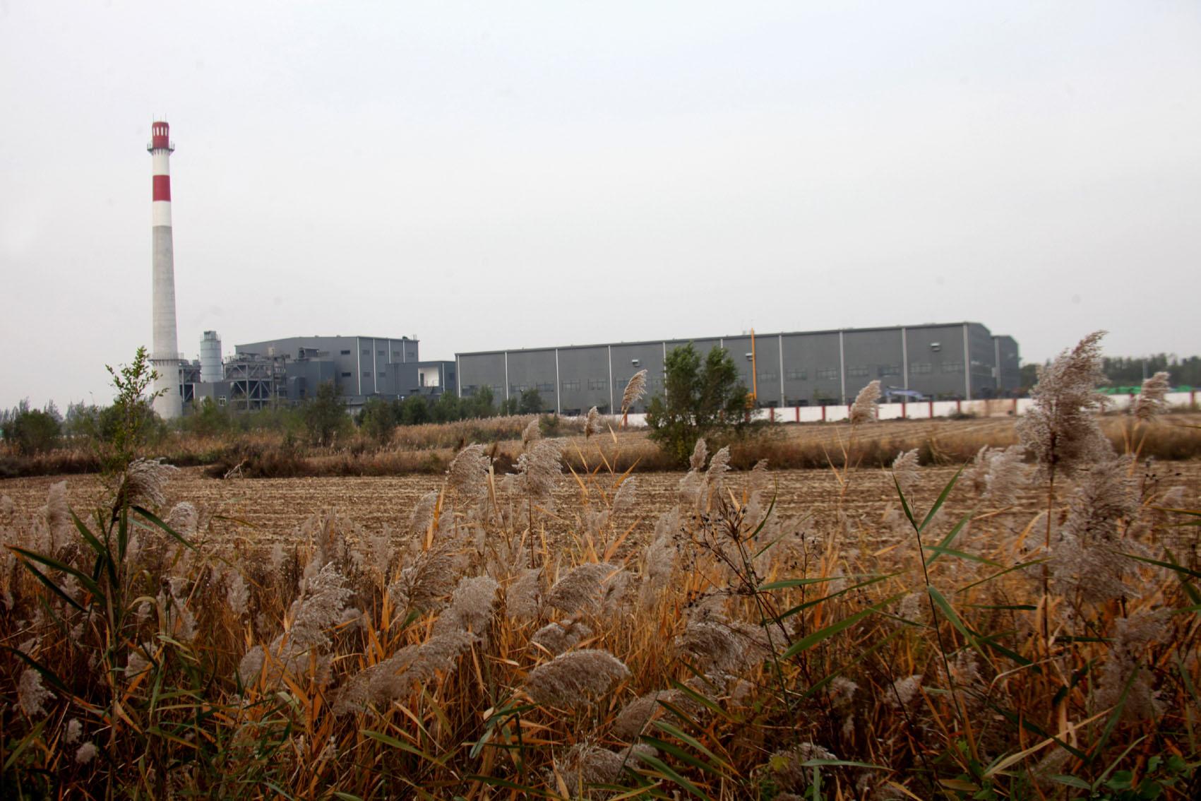 1、中国铁建十八局集团建安公司承建的静海国际商贸物流园供热站二期工程全面建成(伍振 张世丹 摄).JPG
